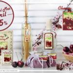 """""""Cherry Cherry"""": aroma del mes de Boles d´Olor amb un 25% de descompte."""