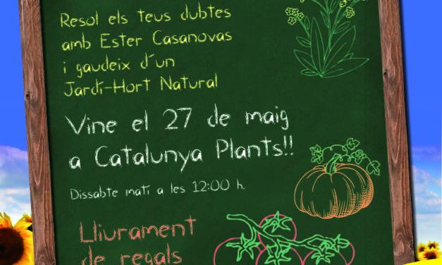 Curs Jardí-Hort Ecològic (gratuït). Reserva ara la teva plaça!