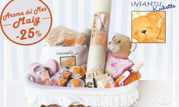"""Infantil Kukette"": aroma del mes de Boles d´Olor amb un 25% de descompte."