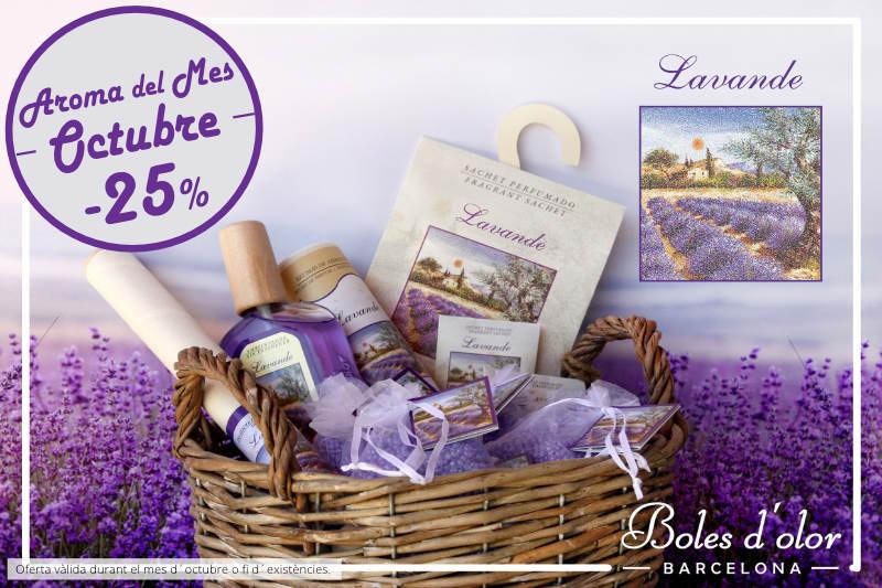 """""""Lavande"""": aroma del mes de Boles d´Olor amb un 25% de descompte."""