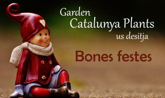 Garden Catalunya Plants us desitja Bones Festes!
