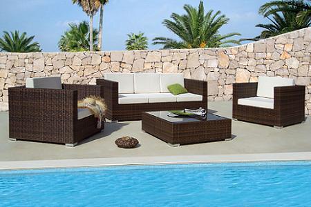 Muebles de exterior de madera garden catalunya plants for Muebles terraza barcelona