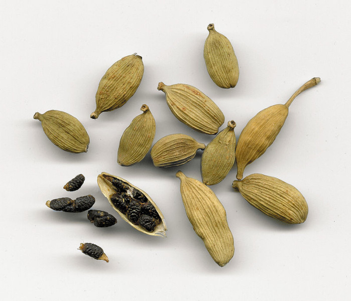 elettaria cardamomum - detall fruit