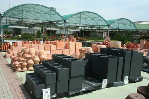 Venta de macetas jardineras e hidrojardineras en - Maceteros de resina ...