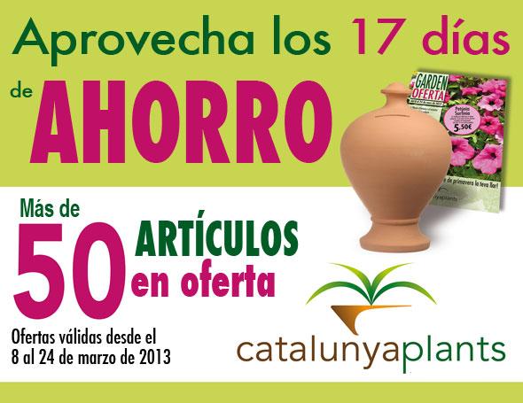 Aprovecha los 17 días de ahorro en Garden Catalunya Plants