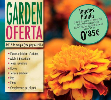 Garden Oferta del 17 de mayo al 9 de junio de 2013