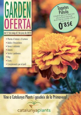 revista con ofertas garden primavera 2013