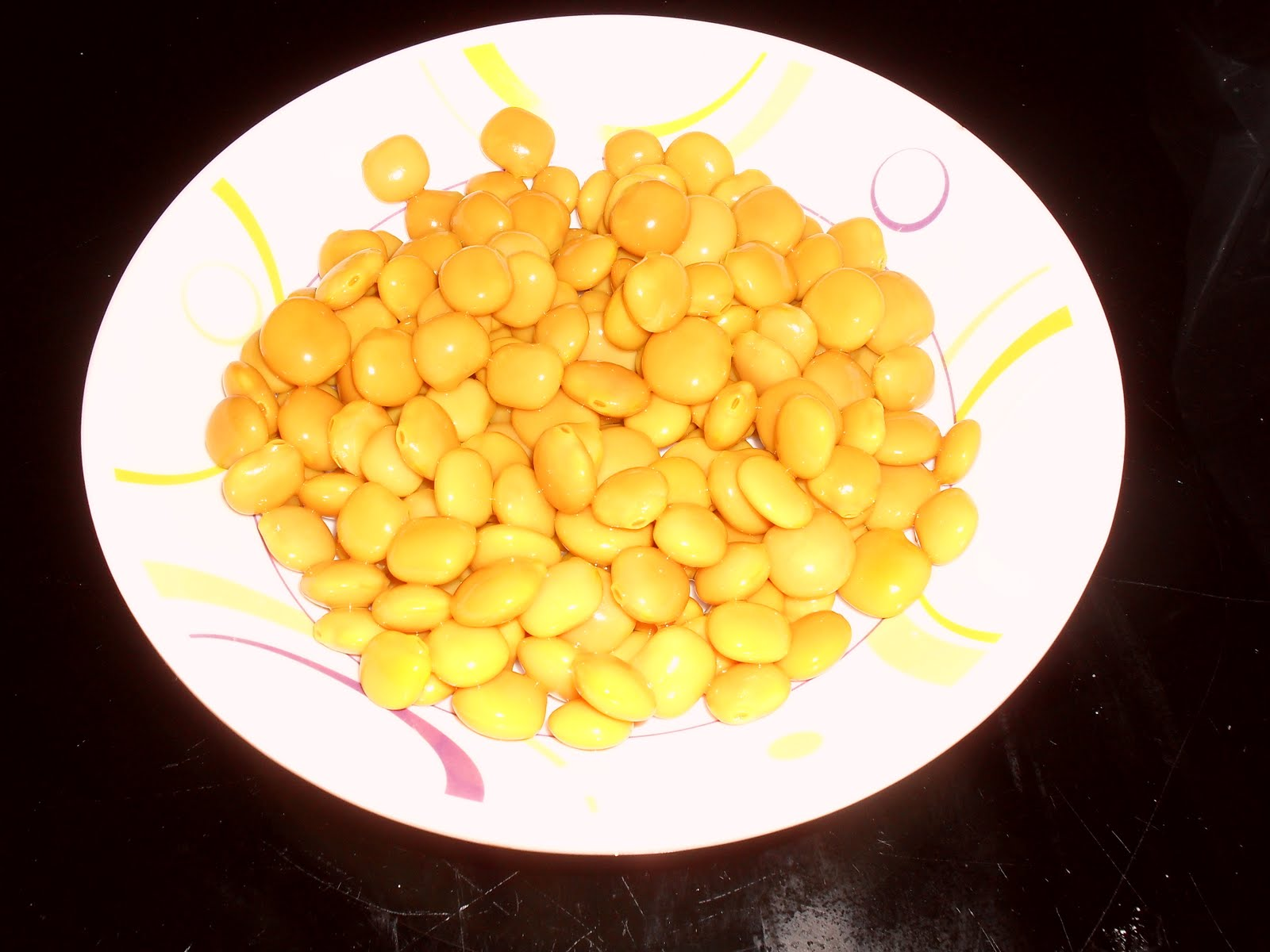 lupinus - plato de altramuces
