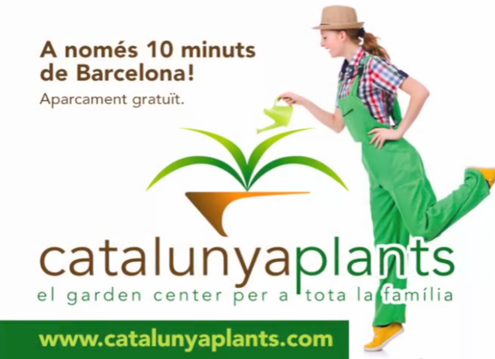 Nuevo spot presentación del Garden Catalunya Plants