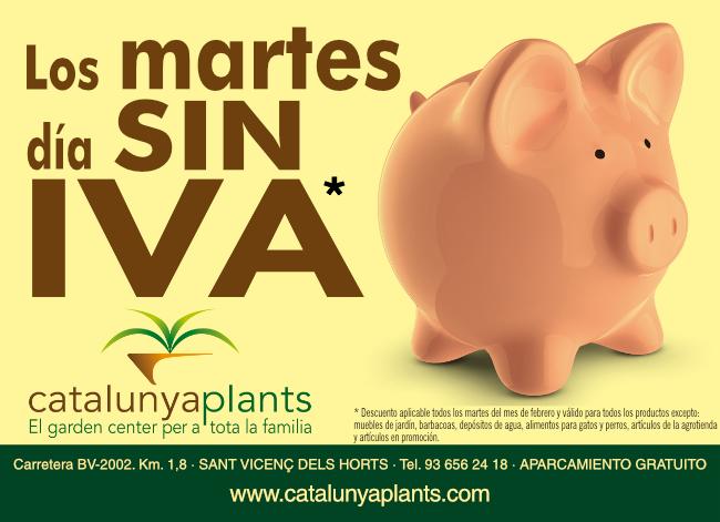 Los martes día SIN IVA.