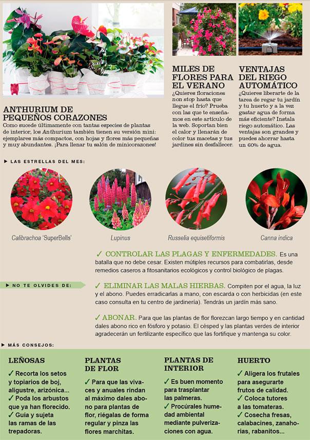 Agenda del Huerto y Jardín de Junio
