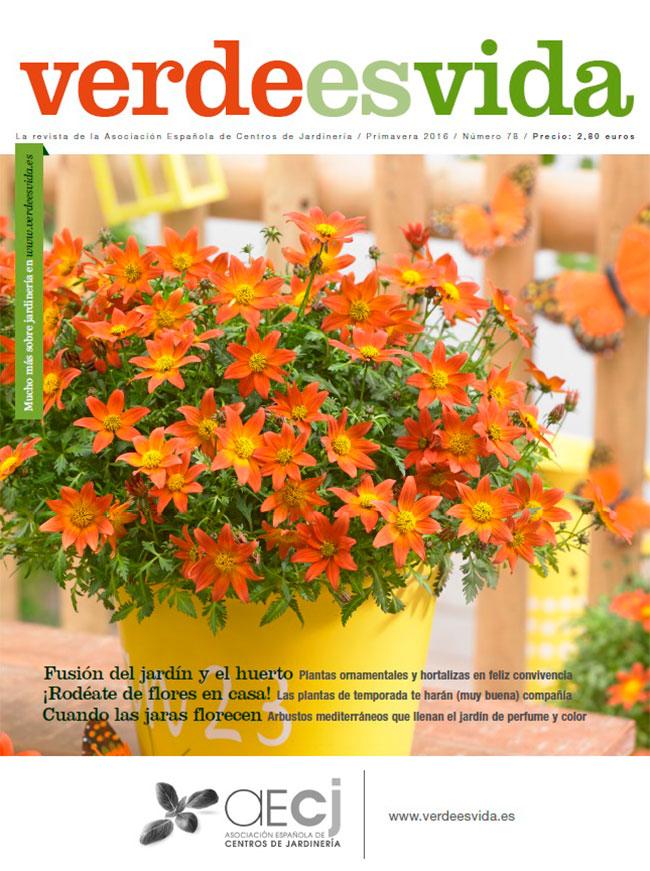"""Ya disponible el número de primavera 2016 de la revista """"Verde es vida""""."""
