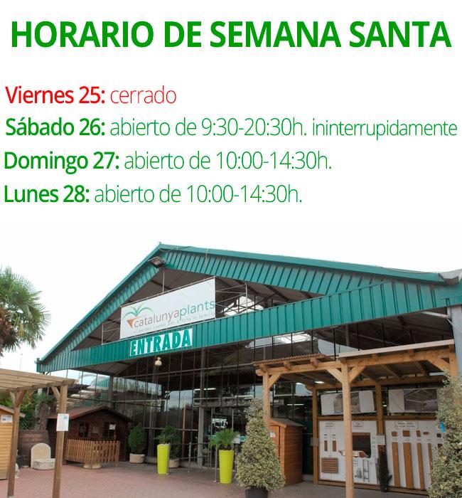 horario-semana-santa-garden-catalunya-plants-2016