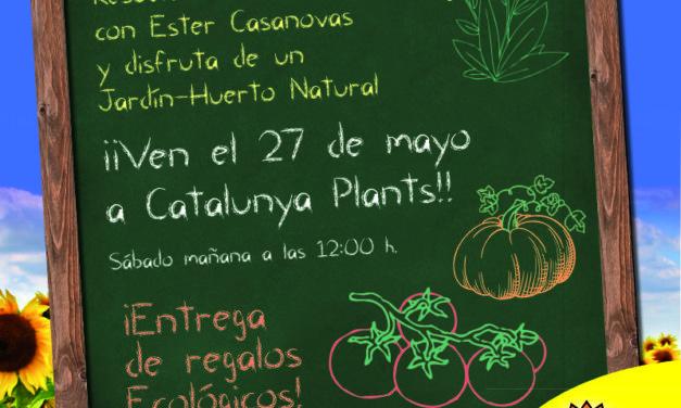 Curso Jardín-Huerto Ecológico (gratuito). ¡Reserva ahora tu plaza!