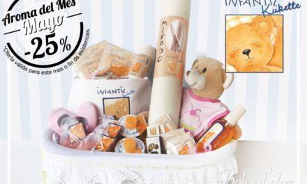 """""""Infantil Kukette"""": aroma del mes de Boles d'Olor con 25% de descuento."""