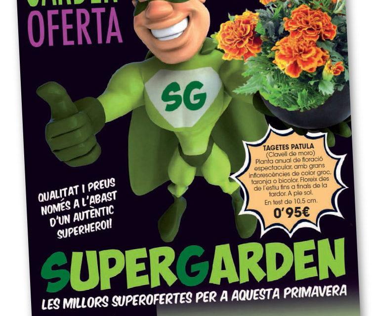 Descárgate nuestro catálogo con las Garden Superofertas