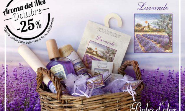 """""""Lavande"""": aroma del mes de Boles d'Olor con 25% de descuento."""