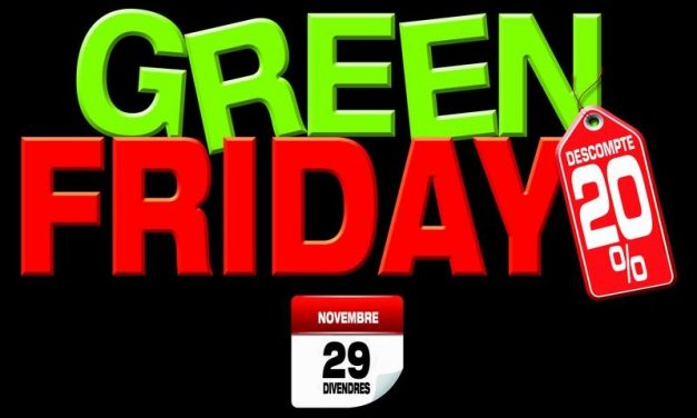 Green Friday con un 20% de descuento