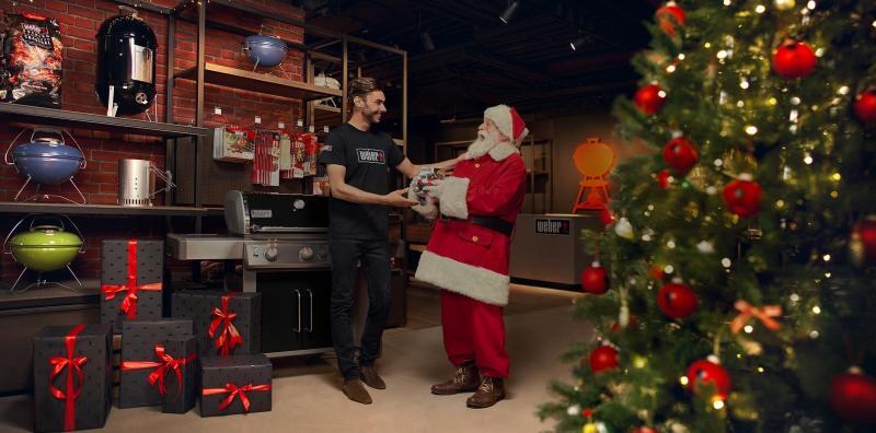 Esta navidad llévate una Weber Connect de regalo